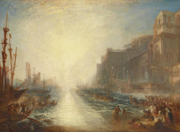 late turner, painting set free, tate britain