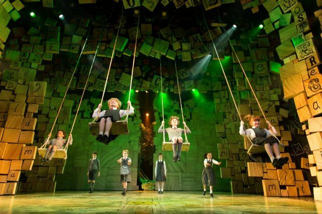 matilda the musical, RSC, uk tour, birmingham hippodrome