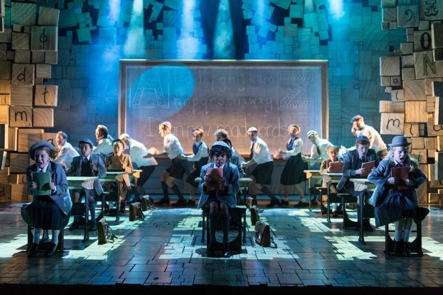 matilda the musical, uk tour, birmingham hippodrome, RSC, summer shows
