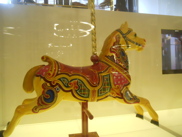 paddington curiosity shop, selfridges, rocking horse
