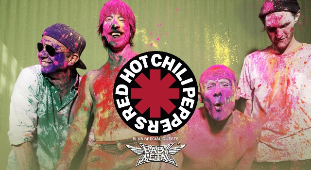 Red Hot Chili Peppers, Babymetal, Genting Arena Birmingham, The Getaway, UK tour