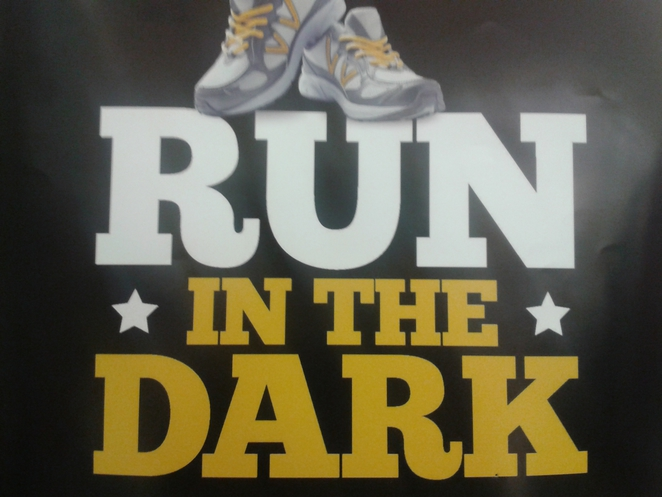 run in the dark, running,