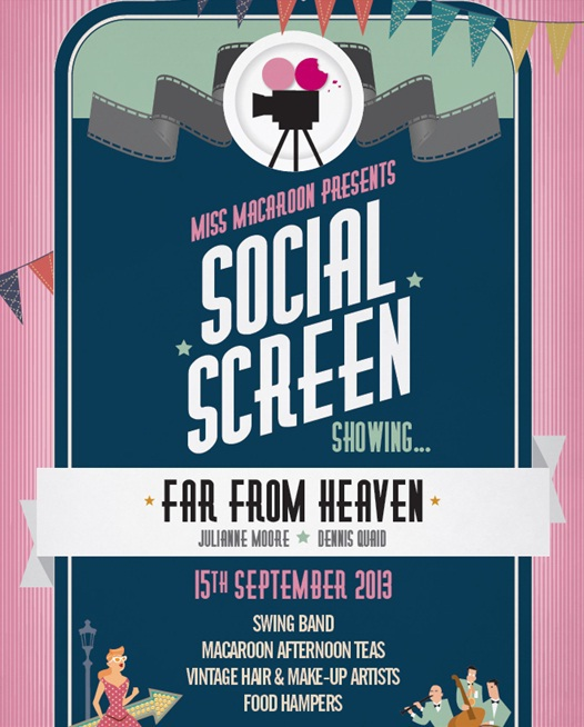 Social Screen, Miss Macaroon, outdoor screening,