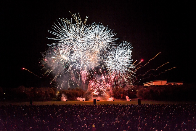 Tamworth Fireworks, Tamworth Castle Grounds