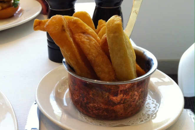 Triple cooked chips @ Marco Pierre White Steakhouse Bar & Grill