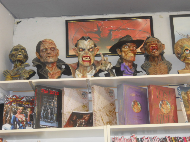 a place in space, comics, collectibles, busts