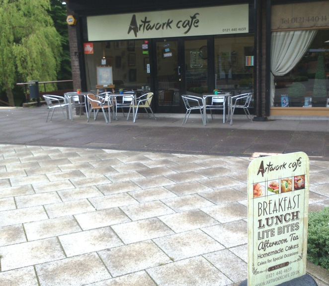 artwork cafe, edgbaston, Birmingham, places to eat near Five Ways