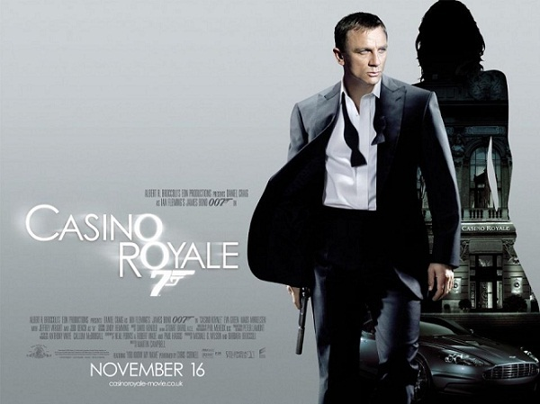 casino royale, daniel craig, james bond