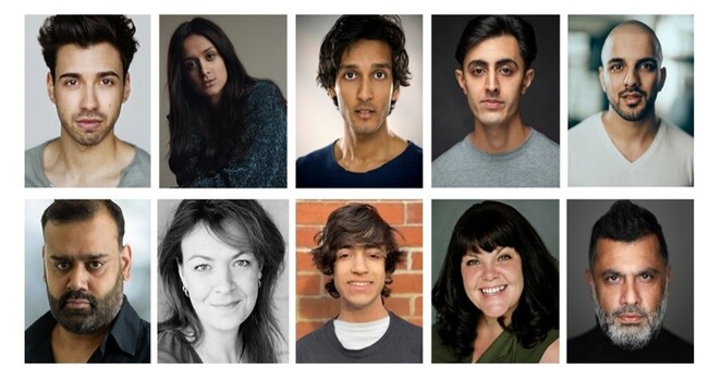 Cast for Birmingham Rep East is East