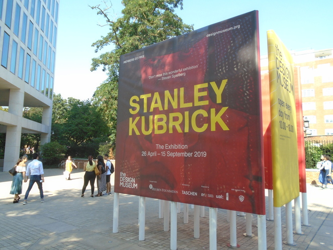Design Museum, London, Stanley Kubrick, cinema, exhibitions, The Shining, Barry Lyndon, 2001: A Space Odyssey, Full Metal Jacket, A Clockwork Orange