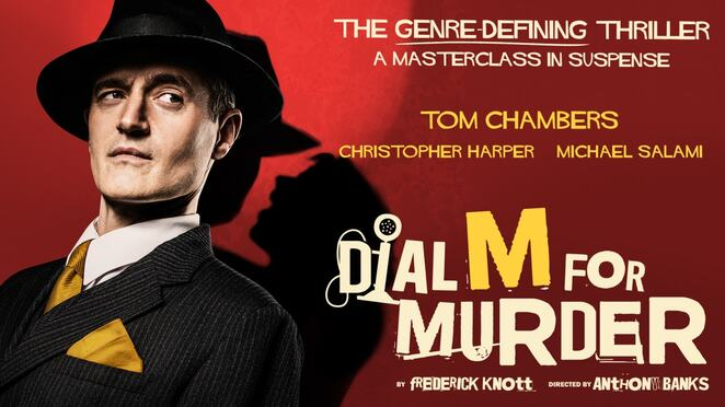 Dial m for murder, birmingham, Samantha Womack, uk tour tom chambers