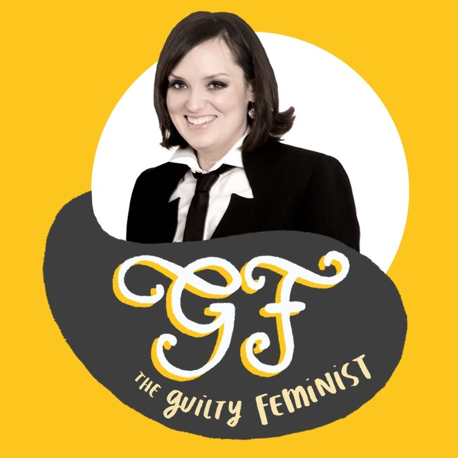 guilty feminist, guilty feminist live, deborah frances white, nuffield southampton theatre, comedy, stand up comedy, podcast live recording