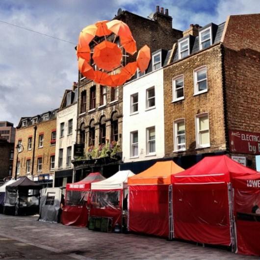 Lower Marsh Market, Waterloo, market, Lower Marsh