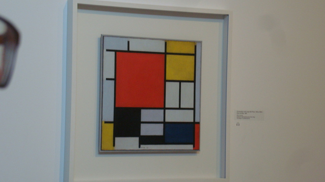 Mondrian exhibition review,art exhibition review