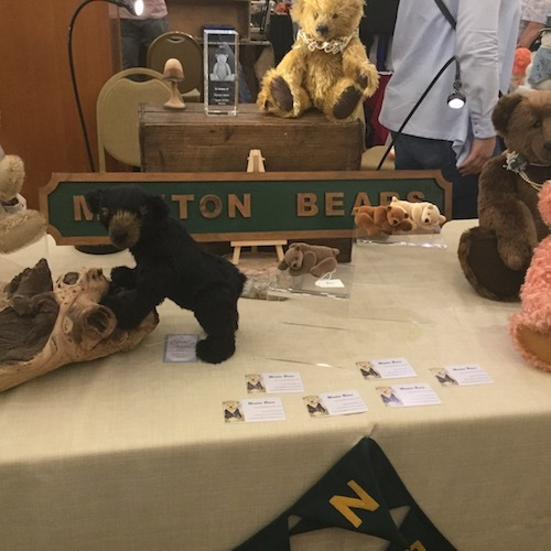 hugglets, teddies, winter fest, monton bears, Karen white