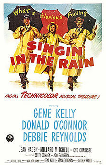Original poster for Singing in the Rain