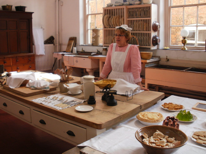 Shugborough, Victorian servants' quarters, head cook, Lord Lichfield