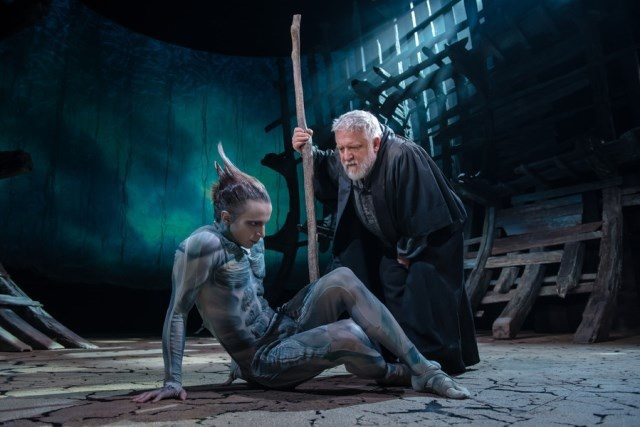 The RSC tempest , barbican, london, Simon Russell Beale