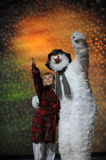 The Snowman, Birmingham Repertory Theatre, Raymond Briggs, Howard Blake, Walking in the Air