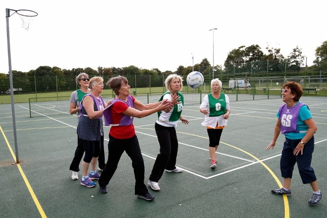Walking Netball, Beacon Park