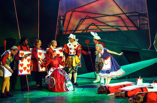 Alice in wonderland, old rep theatre, Birmingham,