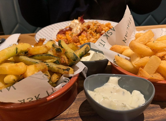 Ask Italian, Birmingham city centre, review