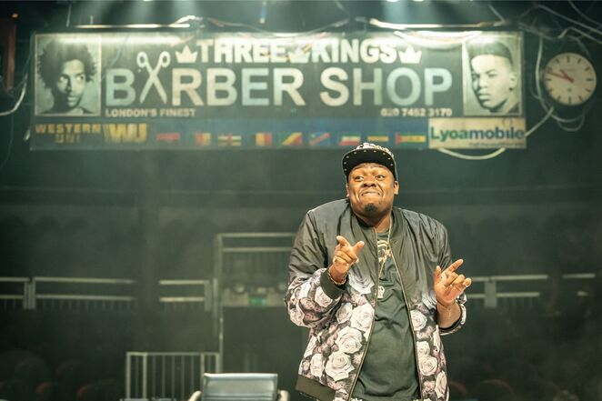 Barber Shop Chronicles at Birmingham Rep
