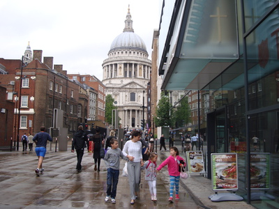 Cafe, London, St Pauls, Tate Modern, lunch