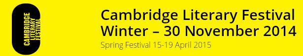 cambridge literary events, book events cambridge, literature in cambridge