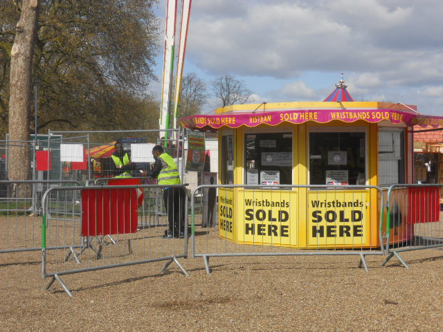 clapham common, theme park, fun fair, tickets
