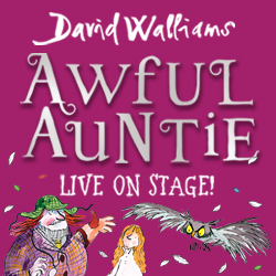 David Walliams, awful auntie, Birmingham theatre
