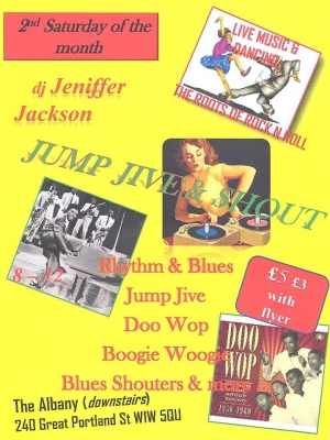 jump, jive, and shout, the albany