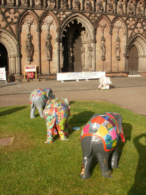 Lichfield Cathedral, Lichfield Festival, The Magic Flute, elephants
