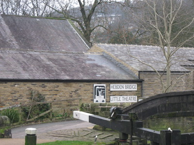 Little Theatre, Locks, Canal, Hebden Bridge, Yorkshire