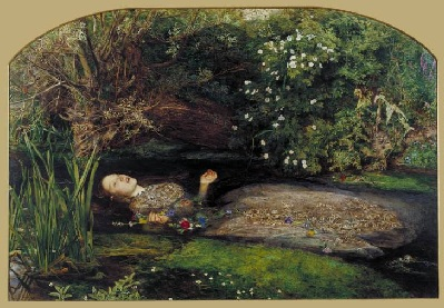 Millais: The Death of Ophelia
