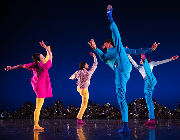 Pepperland, mark Morris dance group, UK tour, Birmingham
