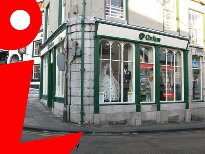 ulverston, chairty shop, oxfam