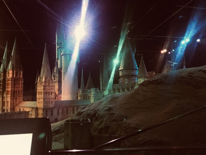 Warner Bros. Harry Potter Studio Tour, Leavesden Studio Hogwarts castle, model