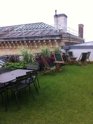 Ashmolean Museum Oxford Afternoon Tea Rooftop Terrace