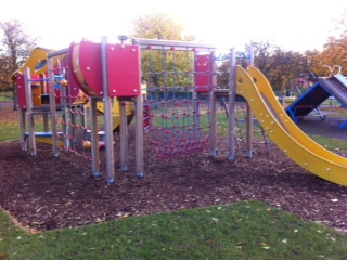 Cutteslowe Park, Oxford, playpark