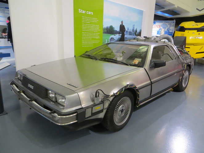 delorean, back to the future, cars, british, motor, museum