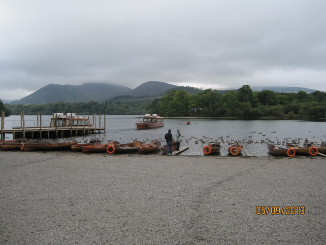 Derwentwater boat trips from here