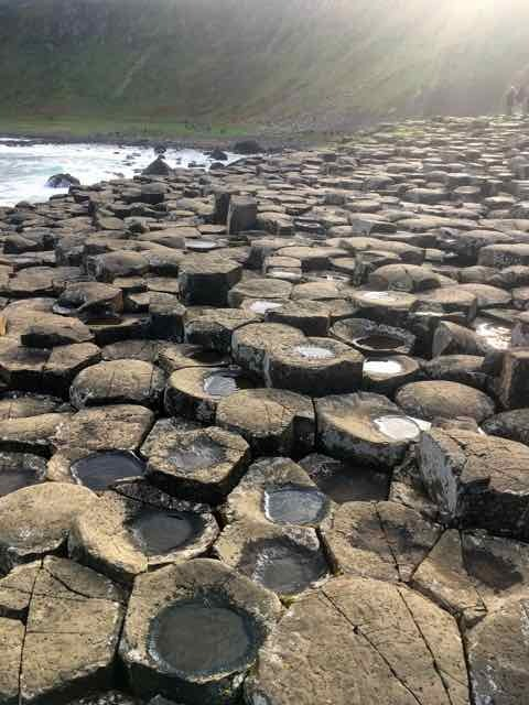 giants causeway,northern ireland,basalt columns,world heritage site