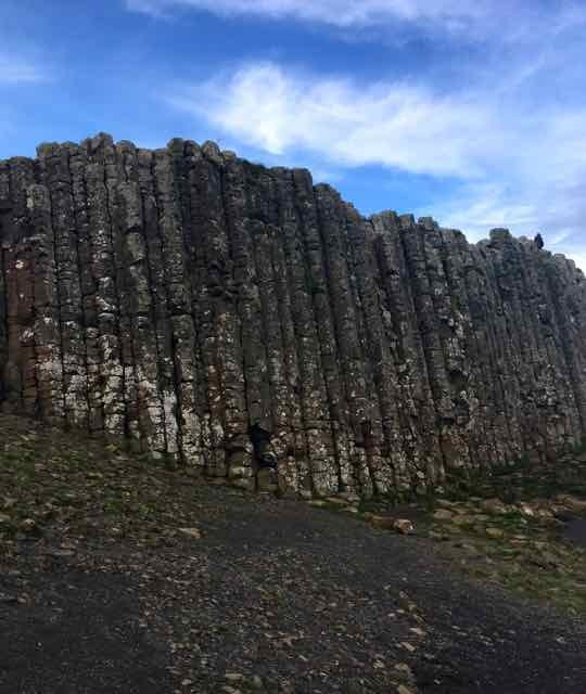 giants causeway,northern ireland,basalt columns,world heritage site,north sea