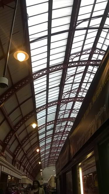 grainger market newcastle upon tyne history tour shopping walk groceries