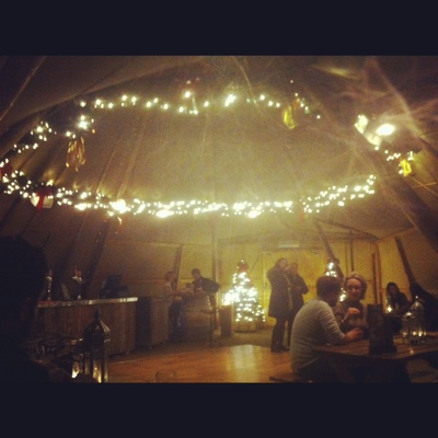 Inside The Curious Teepee