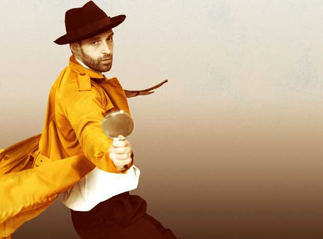 sleuth, zoielogic dance theatre, detective mystery, nst city studio, nuffield southampton theatres, southampton theatre