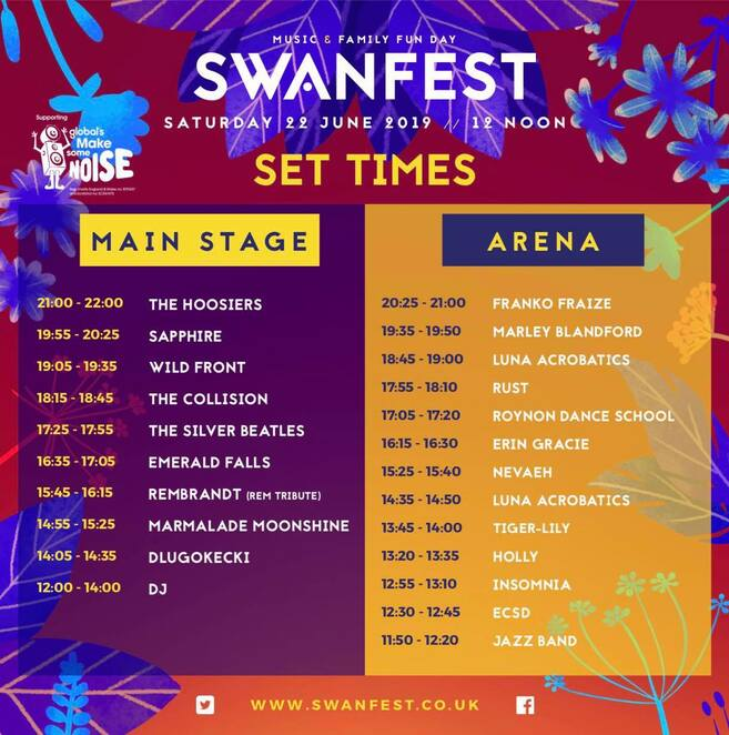 swanfest 2019, swanmore college field, community events, fun things to do, live bands, music, fundraiser, charity, book events, portsmouth events, live music in portsmouth, southsea bandstand and gig guide, performing arts, musical talent, entertainment, family fun, pupils from swanmore college