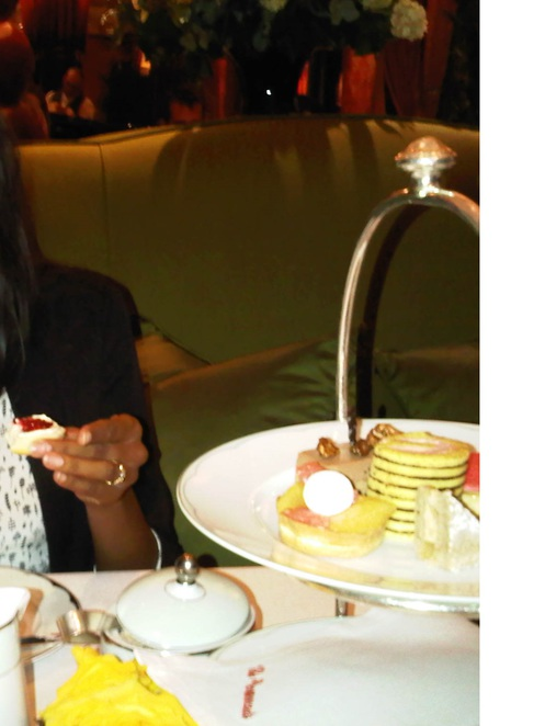The Dorchester, afternoon tea