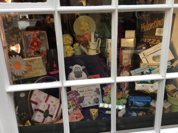 the famous 1657 chocolate house, shop window